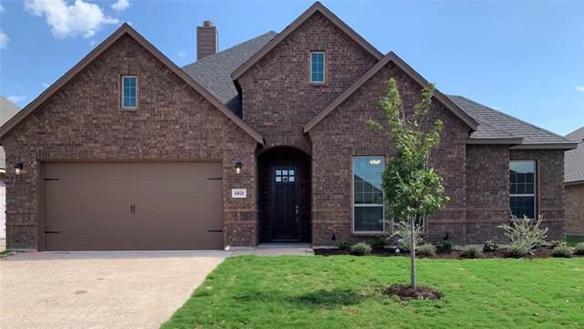 6821 Canyon Rock Drive, Benbrook, TX 76126 (MLS #14198457) :: RE/MAX Town & Country