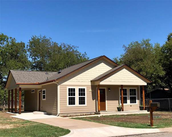 606 Marengo Street, Cleburne, TX 76033 (MLS #14199288) :: RE/MAX Town & Country