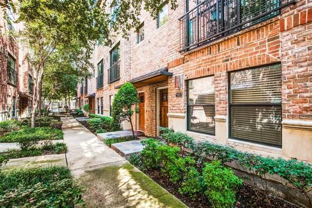2411 N Hall Street #22, Dallas, TX 75204 (MLS #14201805) :: Hargrove Realty Group