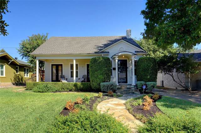 4620 Birchman Avenue, Fort Worth, TX 76107 (MLS #14201808) :: Robbins Real Estate Group