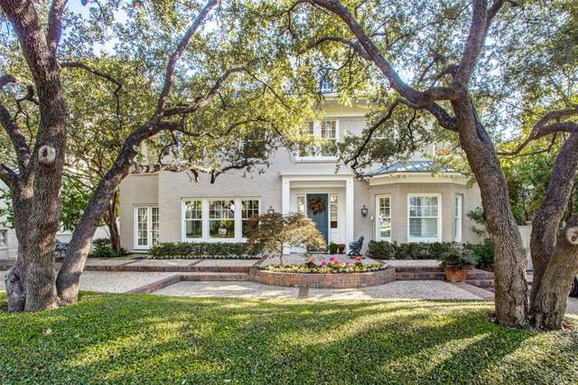 3409 Cornell Avenue, Highland Park, TX 75205 (MLS #14202308) :: Lynn Wilson with Keller Williams DFW/Southlake