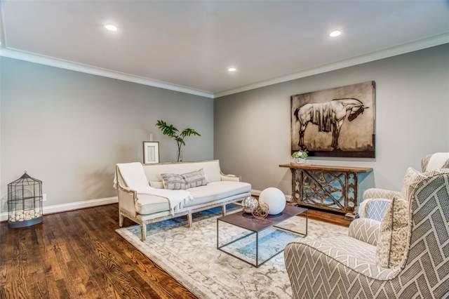 6146 Averill Way 105E, Dallas, TX 75225 (MLS #14203069) :: The Hornburg Real Estate Group