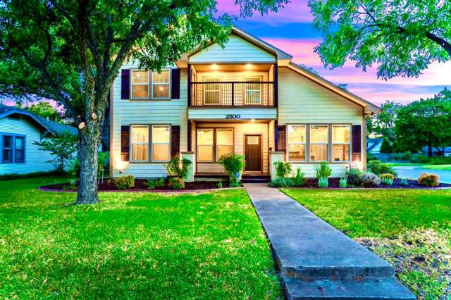 2500 W Lotus Avenue, Fort Worth, TX 76111 (MLS #14203901) :: Lynn Wilson with Keller Williams DFW/Southlake
