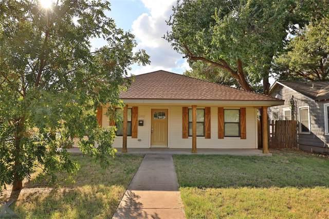1242 S Willis Street, Abilene, TX 79605 (MLS #14203911) :: The Tierny Jordan Network