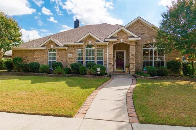 1305 Lochness Drive, Allen, TX 75013 (MLS #14204336) :: The Rhodes Team