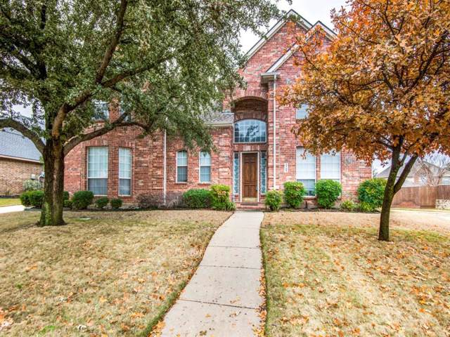 2709 Heather Wood Drive, Flower Mound, TX 75022 (MLS #14205474) :: Real Estate By Design