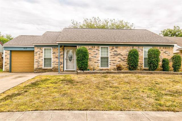 803 Annapolis Drive, Arlington, TX 76017 (MLS #14206056) :: Lynn Wilson with Keller Williams DFW/Southlake