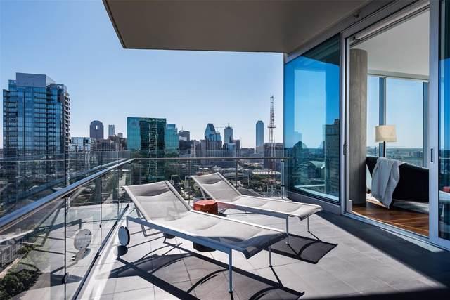 3130 N Harwood Street #2006, Dallas, TX 75201 (MLS #14210197) :: Vibrant Real Estate