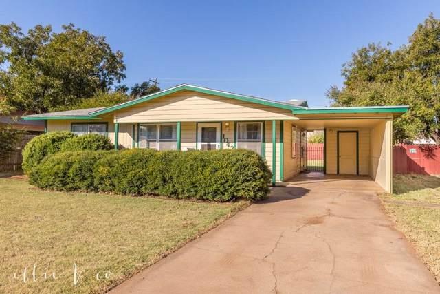 1042 Fannin Street, Abilene, TX 79603 (MLS #14211089) :: The Tierny Jordan Network