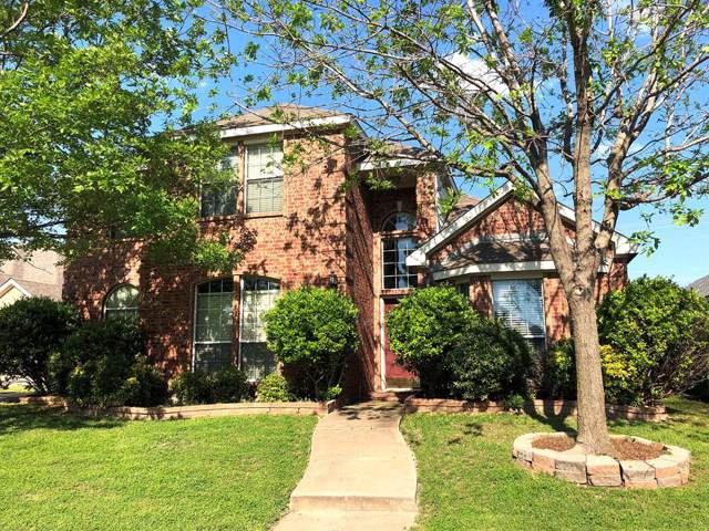 1009 Redbud Drive, Allen, TX 75002 (MLS #14211320) :: Vibrant Real Estate