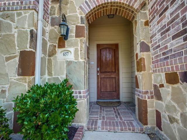 657 Cattlemans Way, Fort Worth, TX 76131 (MLS #14212466) :: Lynn Wilson with Keller Williams DFW/Southlake
