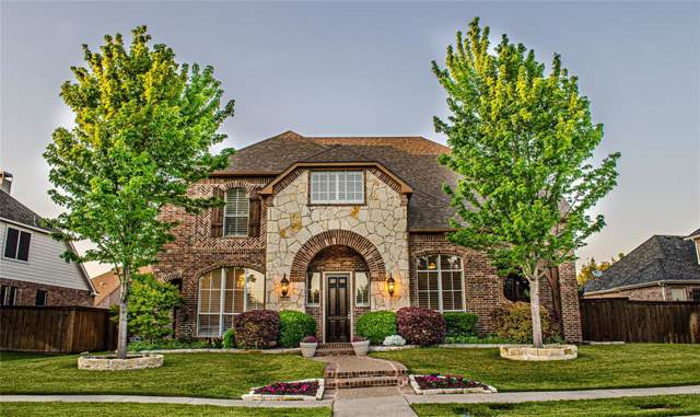 2026 Spindletop Trail, Frisco, TX 75033 (MLS #14213787) :: RE/MAX Town & Country