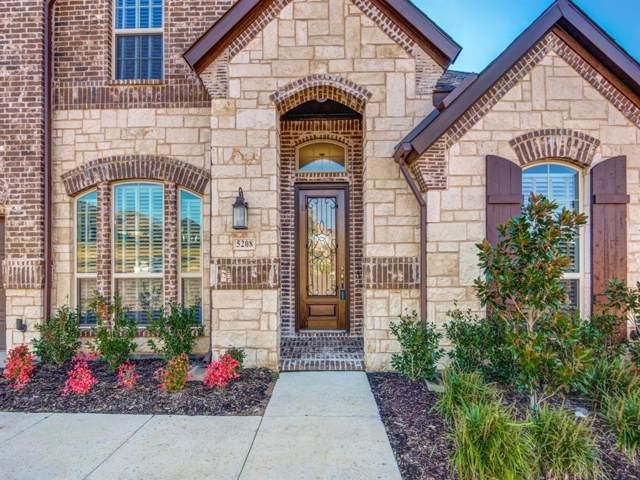 5208 Ravine Ridge Court, Flower Mound, TX 76262 (MLS #14216727) :: RE/MAX Town & Country