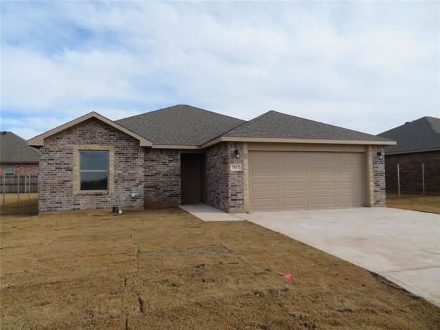 7017 Jennings Drive, Abilene, TX 79606 (MLS #14218518) :: The Chad Smith Team