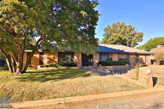 2550 Meadow Lake Drive, Abilene, TX 79606 (MLS #14219244) :: The Chad Smith Team