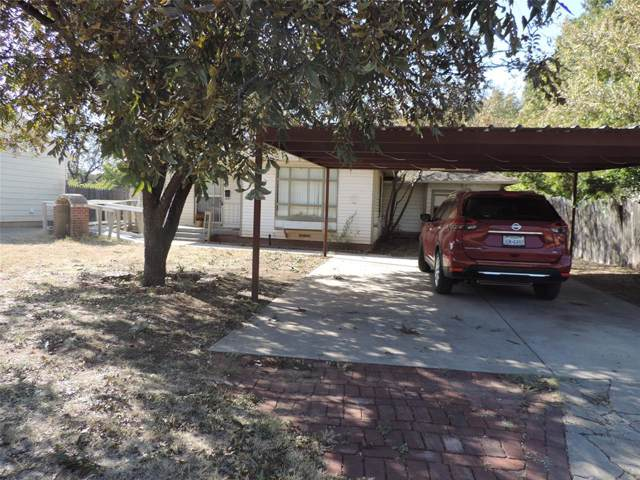 1218 Kirkwood Street, Abilene, TX 79603 (MLS #14219716) :: Lynn Wilson with Keller Williams DFW/Southlake