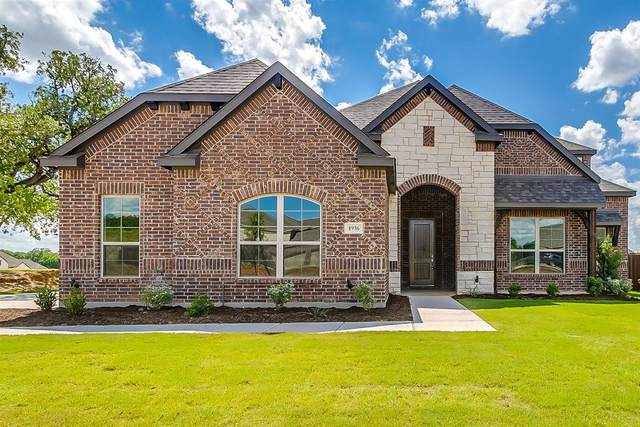1936 Silver Falls Drive, Burleson, TX 76028 (MLS #14219786) :: The Mitchell Group