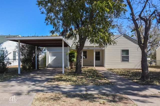 1841 Oak Street, Abilene, TX 79602 (MLS #14221055) :: RE/MAX Town & Country