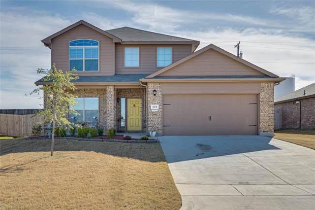 346 Arabian Lane, Ponder, TX 76259 (MLS #14221142) :: Tenesha Lusk Realty Group
