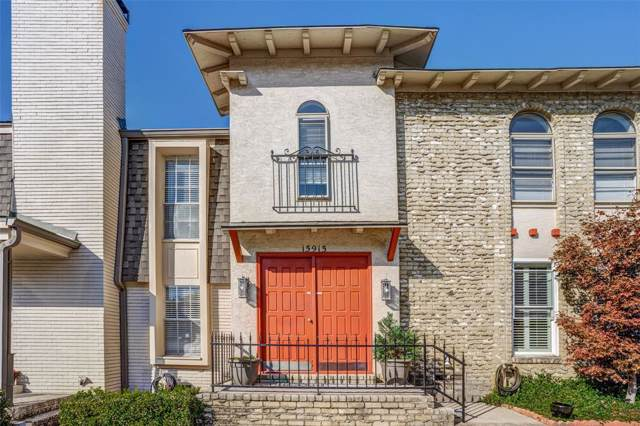 15915 Archwood Lane #1028, Dallas, TX 75248 (MLS #14221561) :: The Hornburg Real Estate Group