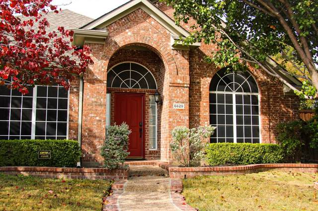 6629 Oxford Lane, The Colony, TX 75056 (MLS #14221763) :: The Kimberly Davis Group
