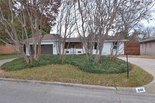 506 Highland Boulevard, Richardson, TX 75081 (MLS #14222451) :: The Chad Smith Team