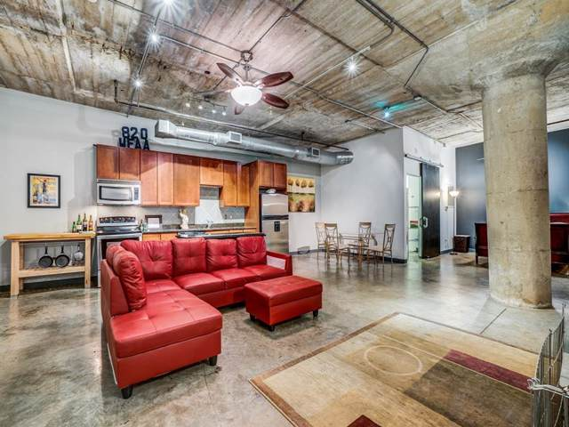 1122 Jackson Street #821, Dallas, TX 75202 (MLS #14222938) :: The Hornburg Real Estate Group