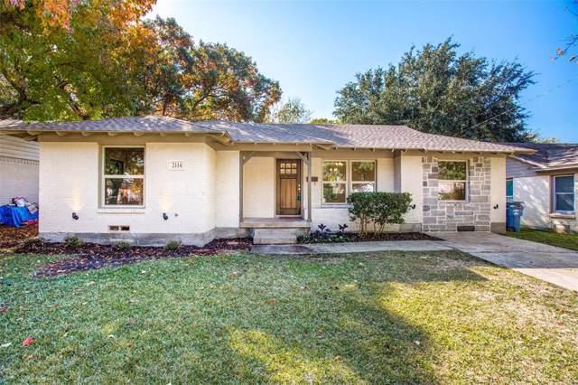 2114 Costa Mesa Drive, Dallas, TX 75228 (MLS #14223265) :: RE/MAX Town & Country