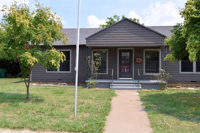 106 Miami, Coleman, TX 76834 (MLS #14223358) :: Hargrove Realty Group