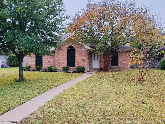 805 Shadybrook Lane, Seagoville, TX 75159 (MLS #14223811) :: Tenesha Lusk Realty Group