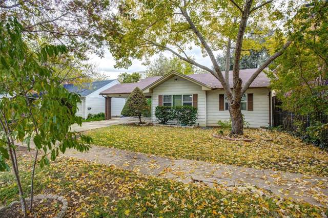 5417 El Campo Avenue, Fort Worth, TX 76107 (MLS #14224108) :: RE/MAX Town & Country