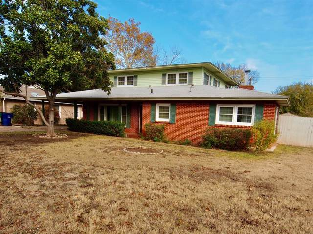 1341 Hillcrest, Graham, TX 76450 (MLS #14224423) :: RE/MAX Town & Country