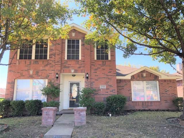 2510 Friendway Lane, Dallas, TX 75237 (MLS #14224507) :: RE/MAX Town & Country
