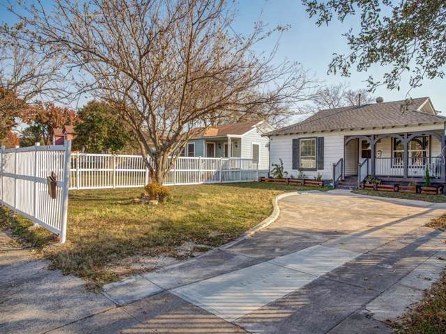 1618 Lebanon Avenue, Dallas, TX 75208 (MLS #14224659) :: RE/MAX Town & Country
