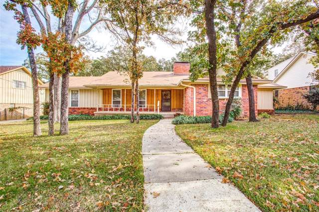 2910 Nottingham Drive, Denton, TX 76209 (MLS #14224675) :: RE/MAX Town & Country