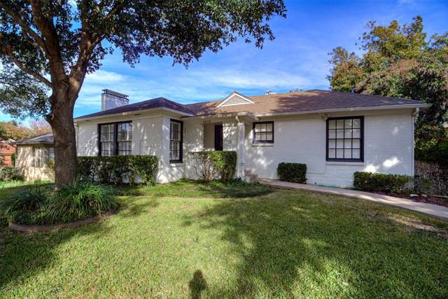 3414 Westcliff Road S, Fort Worth, TX 76109 (MLS #14225205) :: RE/MAX Town & Country