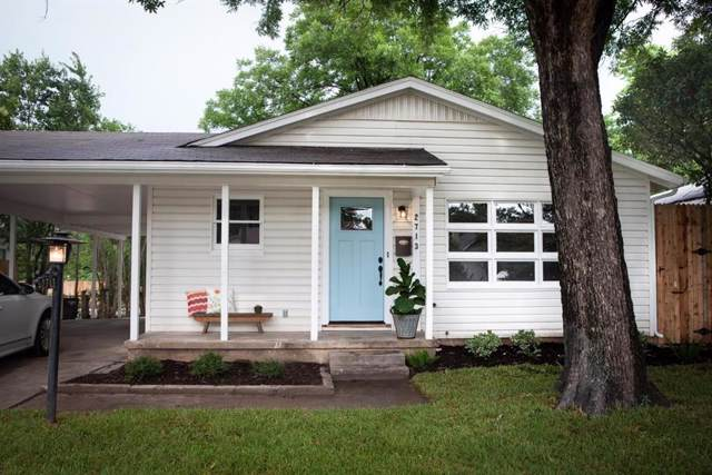 2713 Gordon Avenue, Fort Worth, TX 76110 (MLS #14225412) :: RE/MAX Town & Country