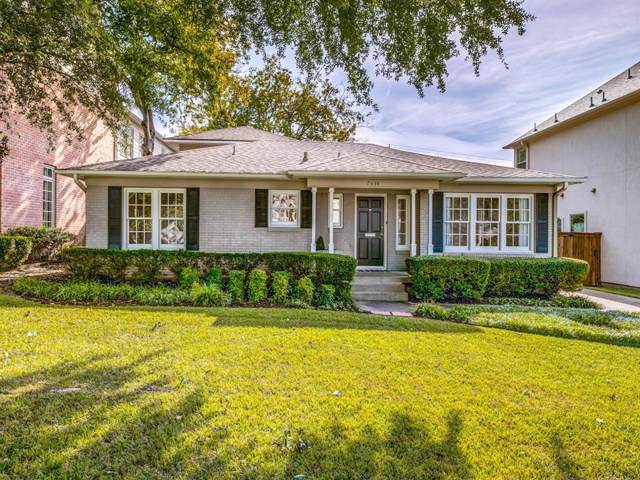 7434 Centenary Avenue, Dallas, TX 75225 (MLS #14226547) :: Robbins Real Estate Group