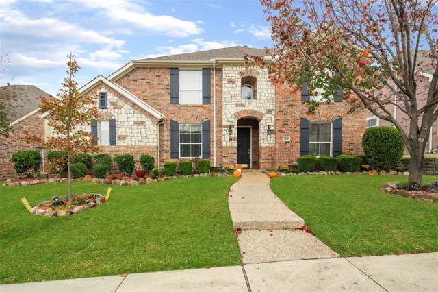 1100 Barrymore Lane, Allen, TX 75013 (MLS #14227034) :: RE/MAX Town & Country