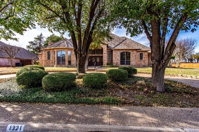 1321 Yardley Place, Desoto, TX 75115 (MLS #14228685) :: RE/MAX Town & Country