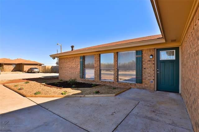 1309 Corsicana Avenue, Abilene, TX 79605 (MLS #14229839) :: Century 21 Judge Fite Company