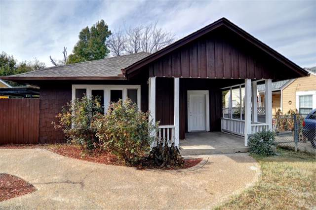 3444 Frazier Avenue, Fort Worth, TX 76110 (MLS #14231779) :: RE/MAX Town & Country