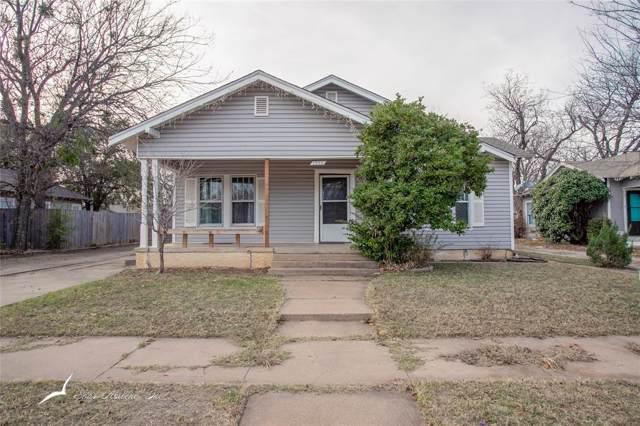 1250 Peach Street, Abilene, TX 79602 (MLS #14233213) :: Baldree Home Team
