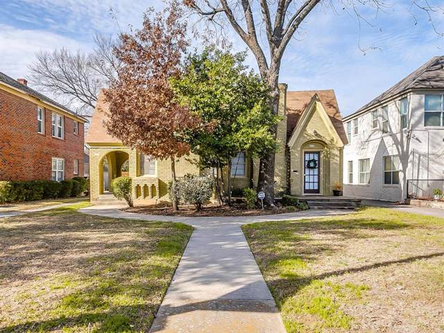 3312 S University Drive, Fort Worth, TX 76109 (MLS #14233633) :: All Cities Realty