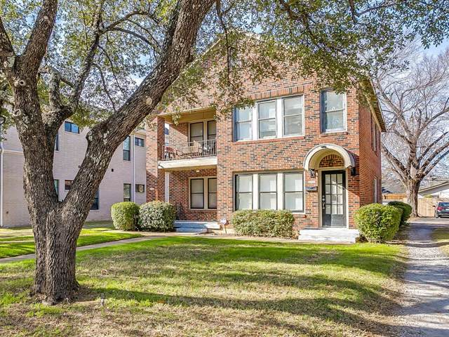 3316 S University Drive, Fort Worth, TX 76109 (MLS #14233635) :: All Cities Realty