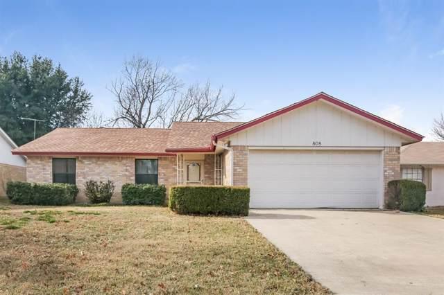 808 Cross Timbers Drive, Fort Worth, TX 76108 (MLS #14234257) :: Team Tiller