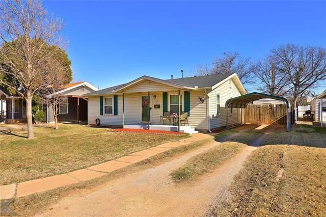 1509 Matador Street, Abilene, TX 79605 (MLS #14234505) :: The Good Home Team