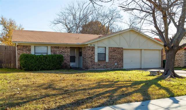 6236 Douglas Drive, Watauga, TX 76148 (MLS #14234700) :: Dwell Residential Realty