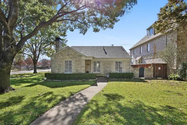 4301 Amherst, University Park, TX 75225 (MLS #14234804) :: Ann Carr Real Estate