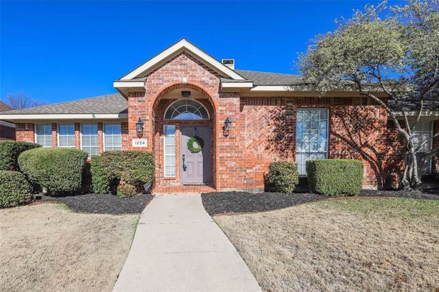 1224 Rainforest Lane, Allen, TX 75013 (MLS #14234965) :: The Good Home Team